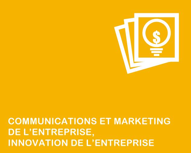 Communications, marketing, innovation