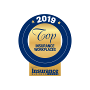 IBC 2019 Top Insurance Workplaces Logo